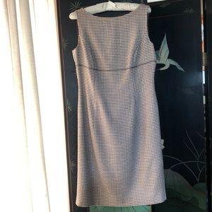 Designer Escada sleeveless wool dress